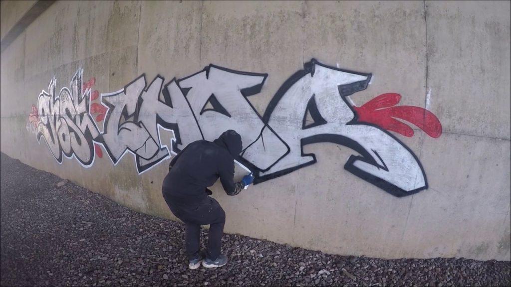 ART: Graffiti - Ghost EA & Chor CRZ - Chrome Killers Episode 3