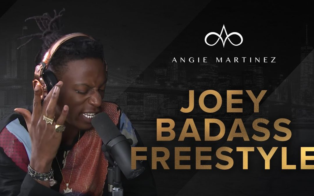 "BARS: Joey Badass Murders Freestyle over Kodak Black's ""Tunnel Vision"" on The Angie Martinez Show"