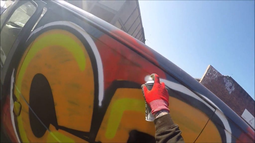 ART: Graffiti - Ghost EA - Van Graffiti Raw Footage