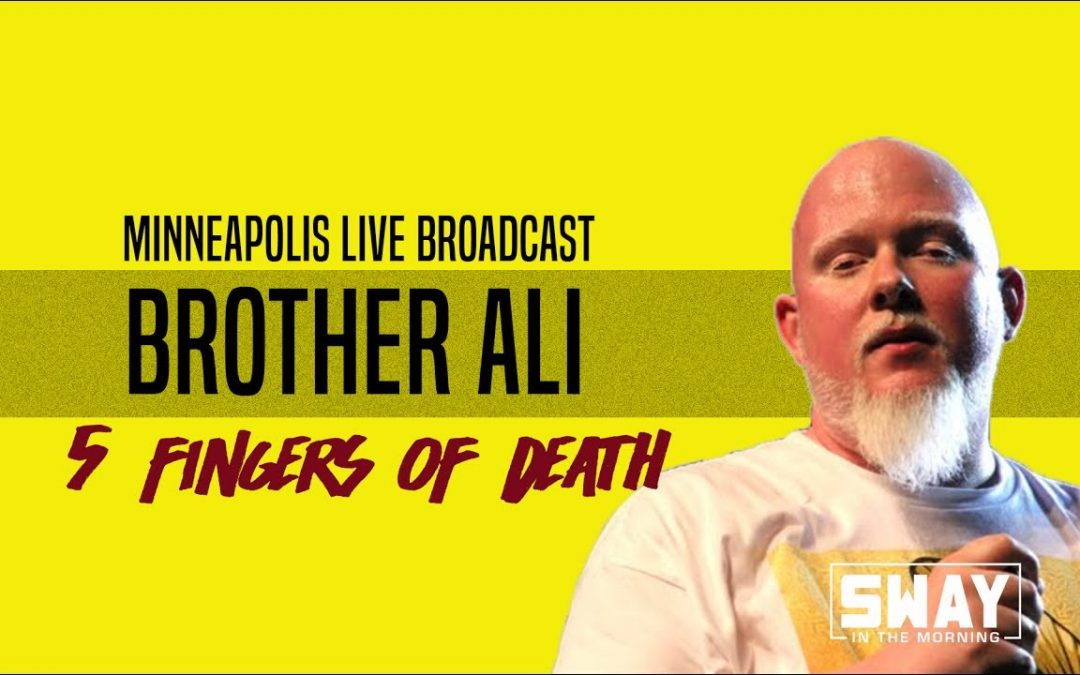BARS: Live in Minneapolis: Brother Ali Spits Over 5 Fingers Of Death on Sway in the Morning
