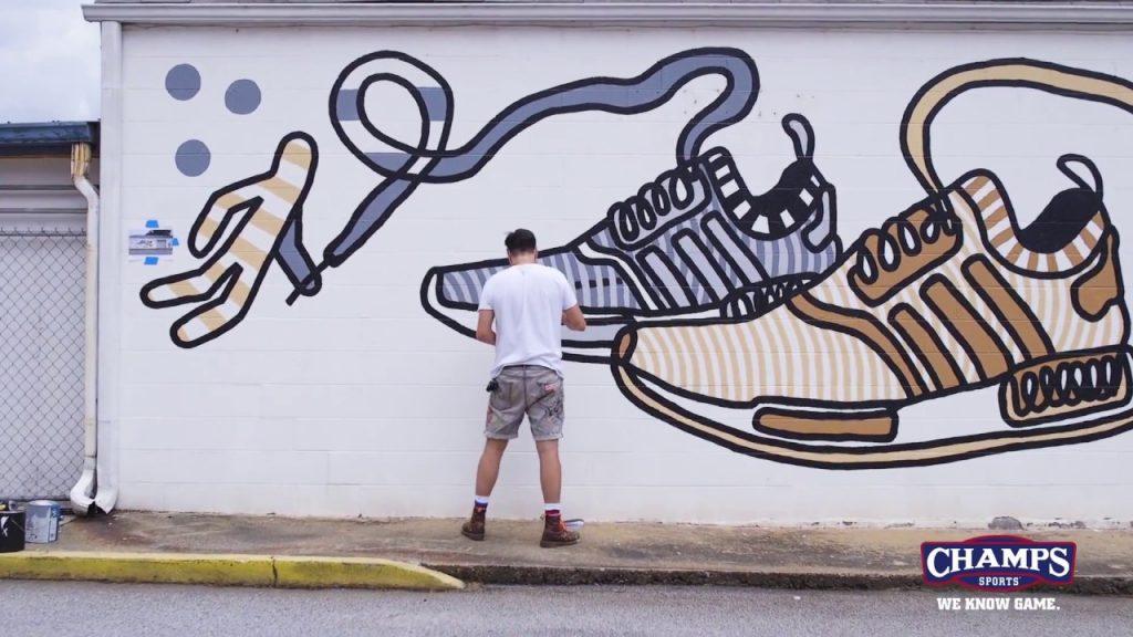 ART: Yoyo Ferro's Huge adidas NMD Mural! | Ill-ustrated Ep. 11
