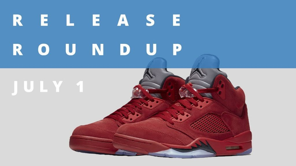 STYLE: Flight Suit Air Jordan 5 and More | Release Roundup July 1st