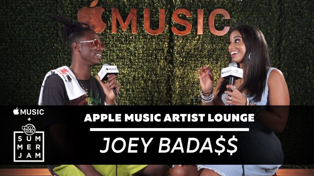 LIFE: Joey Bada$$ Reflects on Five Years in the Game at Apple Music Artist Lounge