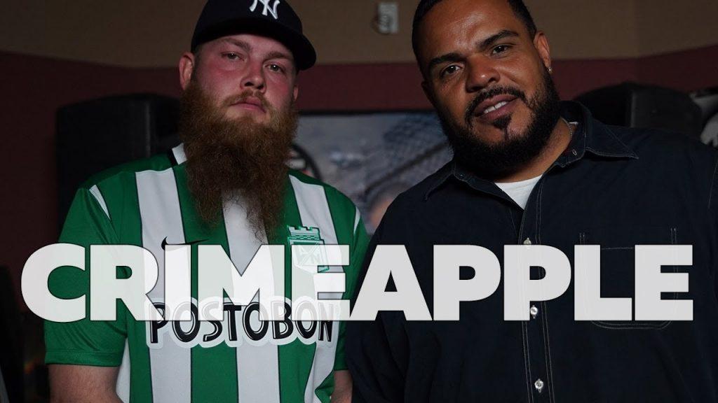 BARS: CRIMEAPPLE Freestyle on The Hot Box w/ DJ Enuff