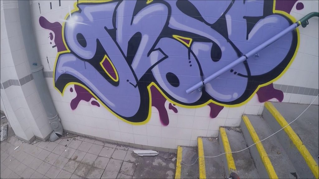 ART: Graffiti - Ghost EA - Tags, Throws & Dubs
