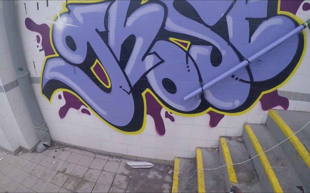 ART: Graffiti – Ghost EA – Tags, Throws & Dubs