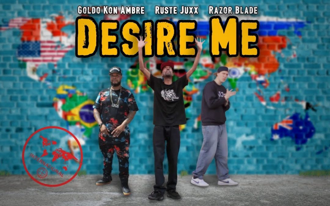 "MUSIC: Ruste Juxx ""Desire Me"" feat. Razor Blade & Goldo Kon Ambre (Official Music Video)"
