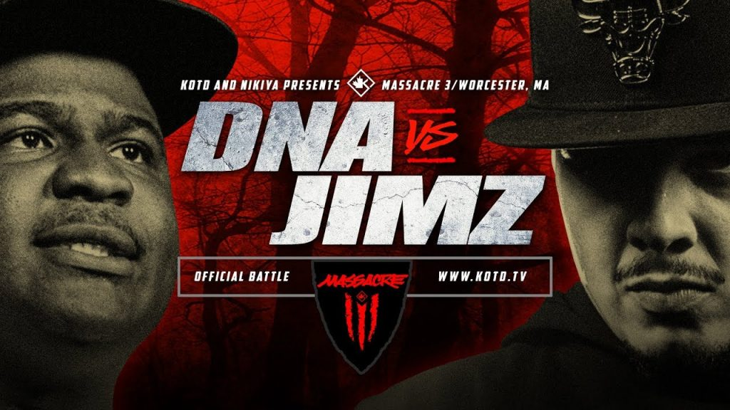 BARS: KOTD - DNA vs Jimz | #MASS3