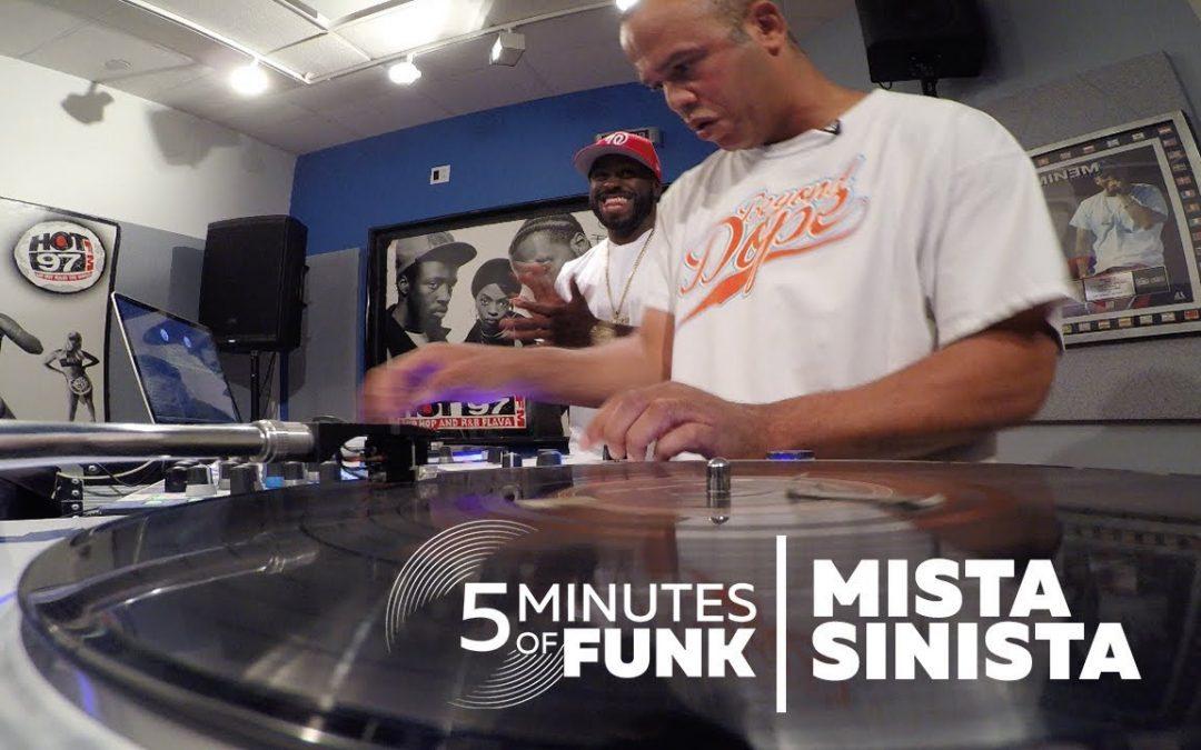LIFE: Mista Sinista | #5MinutesOfFunk | #TurntableTuesday97