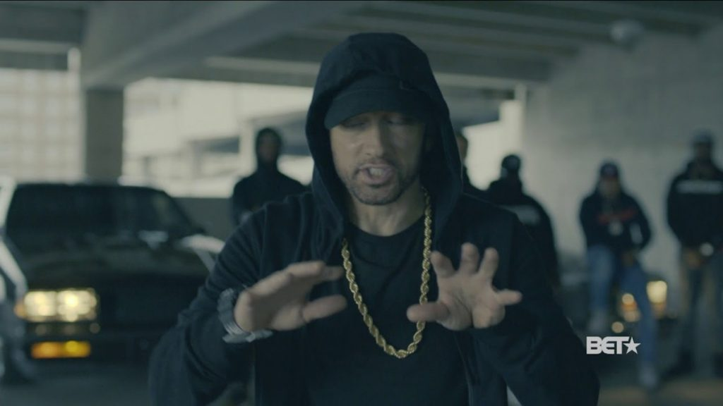 MUSIC: Eminem Rips Donald Trump In BET Hip Hop Awards Freestyle Cypher