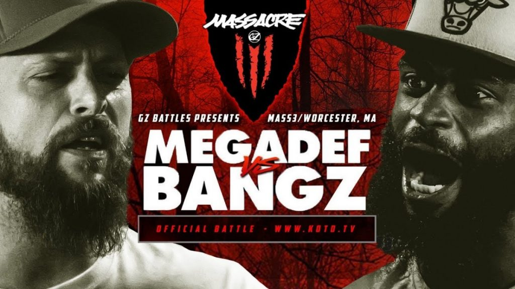 BARS: KOTD - Megadef vs Bangz - #MASS3