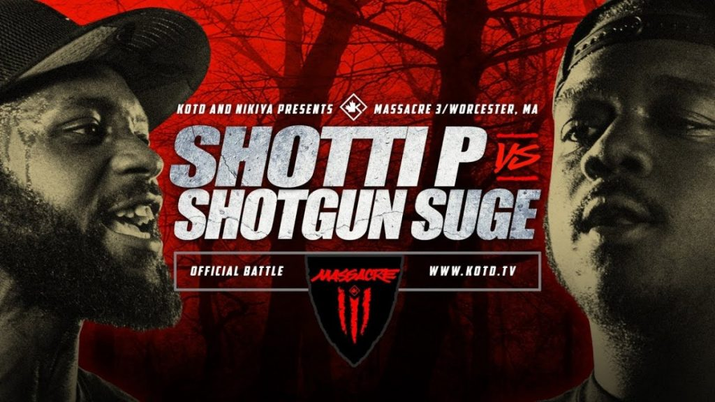 BARS: KOTD - Shotti P vs Shotgun Suge - #MASS3