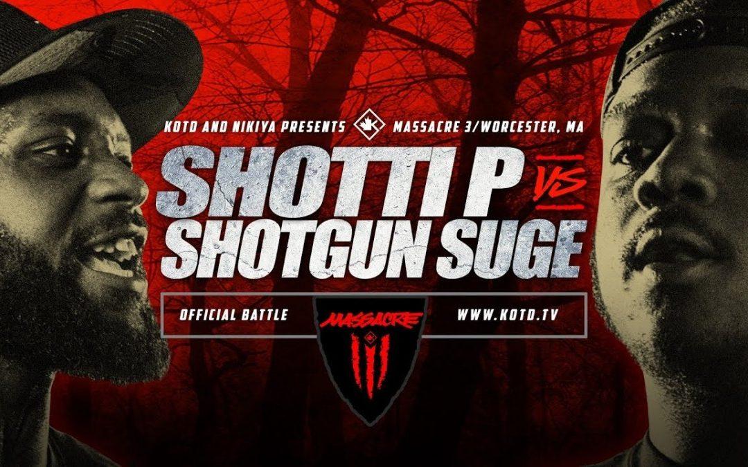 BARS: KOTD – Shotti P vs Shotgun Suge – #MASS3