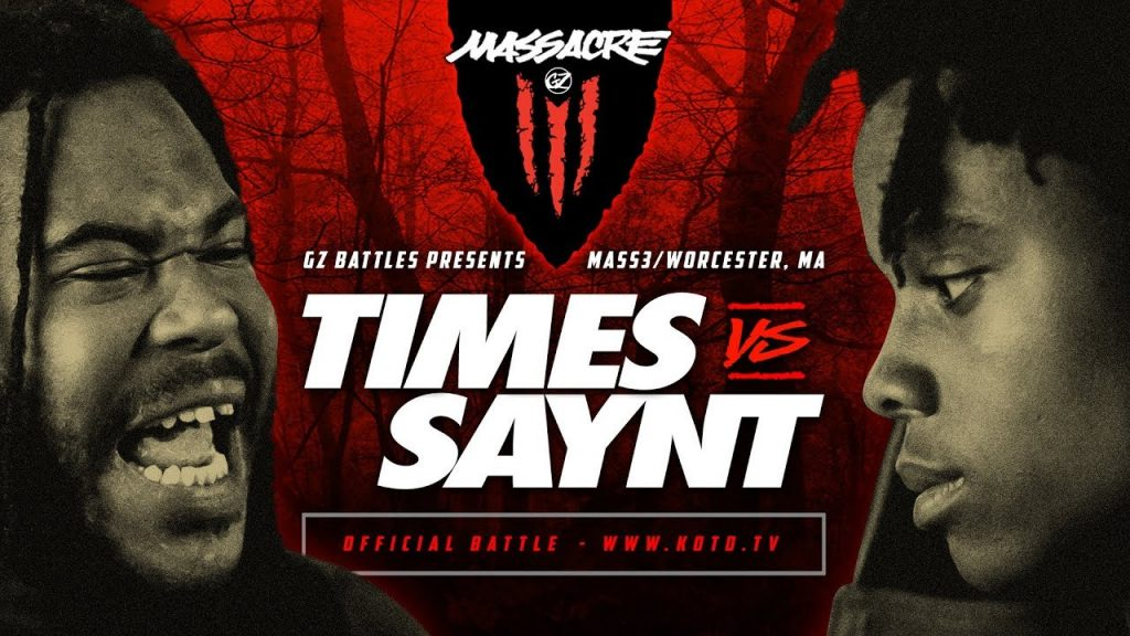 BARS: KOTD - Times vs Saynt | #MASS3