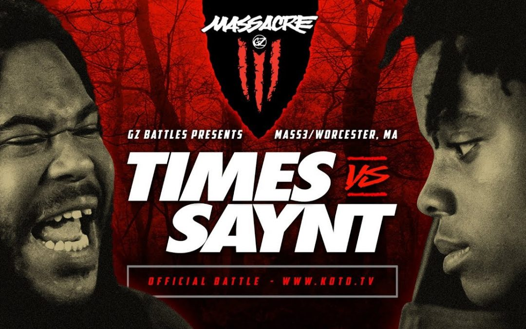 BARS: KOTD – Times vs Saynt | #MASS3