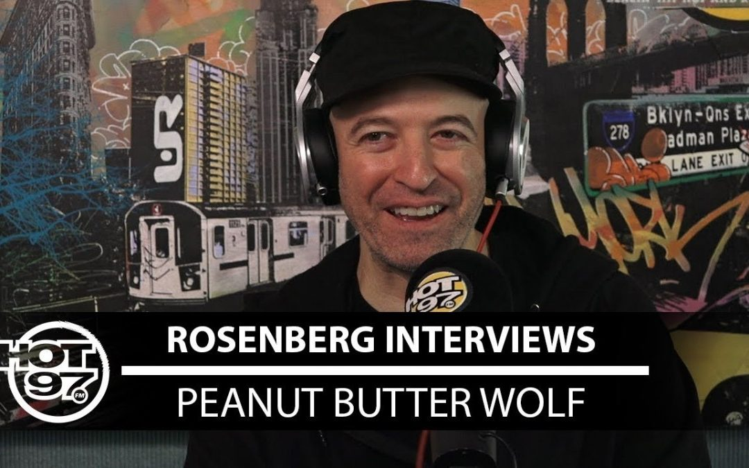 LIFE: Peanut Butter Wolf talks Dilla, Doom, and Madlib with Rosenberg