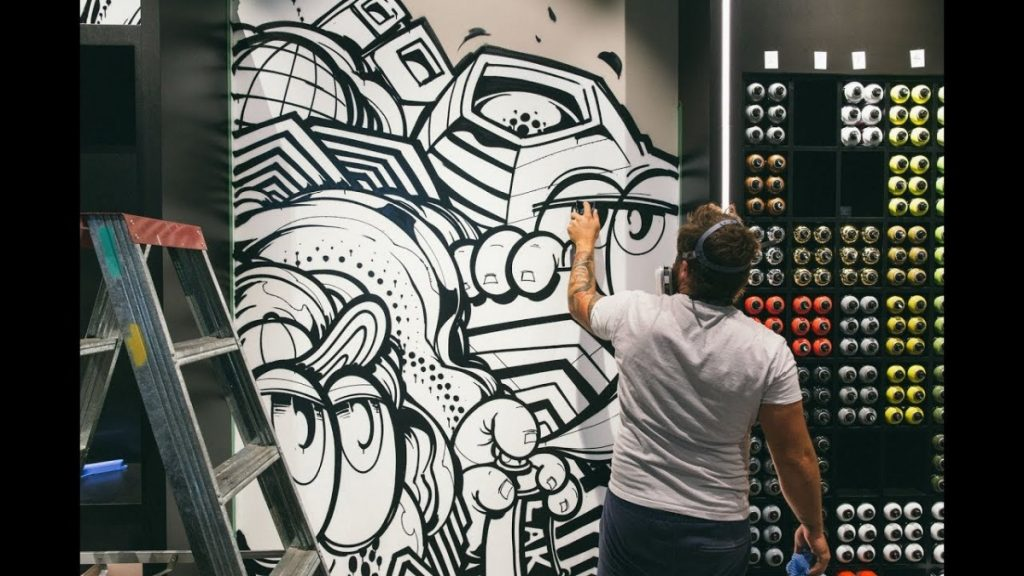 ART: SOFLES at Ironlak Art & Design Garden City