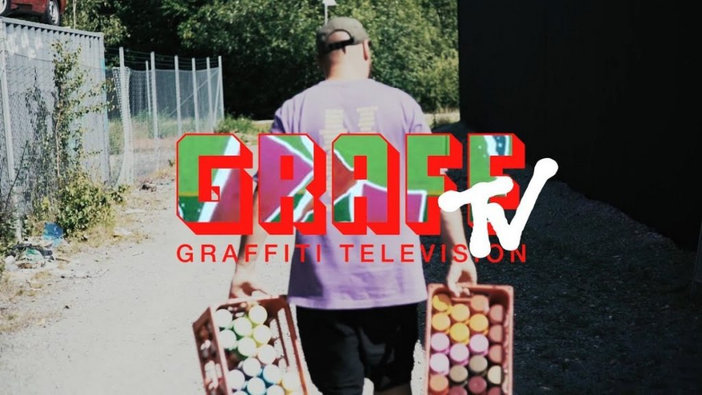 ART: GRAFFITI TV: IKAROZ