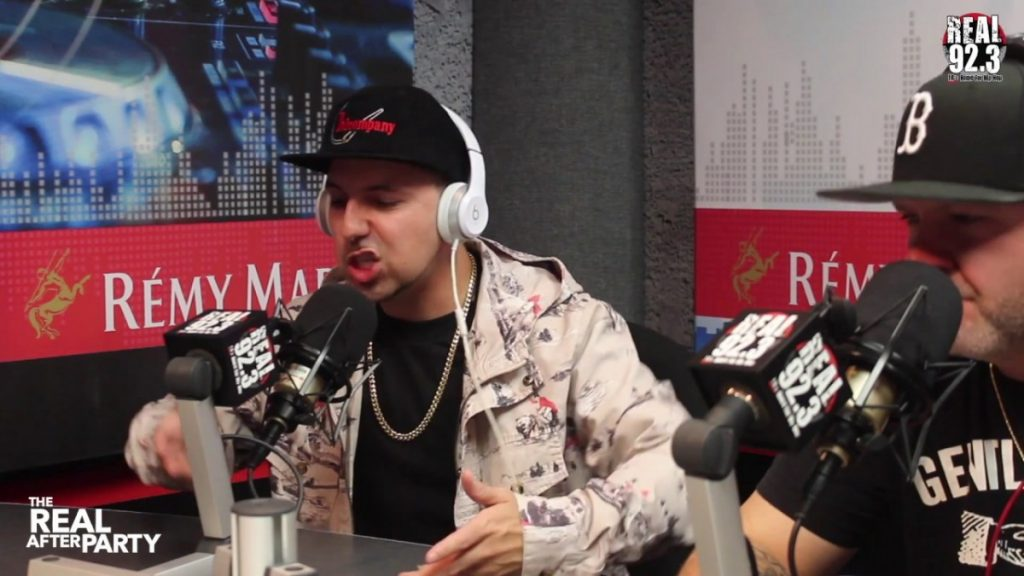 BARS: Termanology & Slaine Freestyle w/ Bootleg Kev on Real 92.3