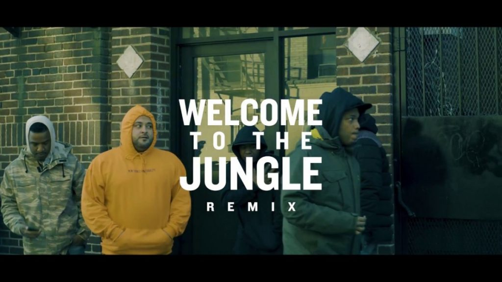MUSIC: Tony Moxberg Ft Smoke Dza x Snyp Life x Styles P 'Welcome to the Jungle 'Remix'