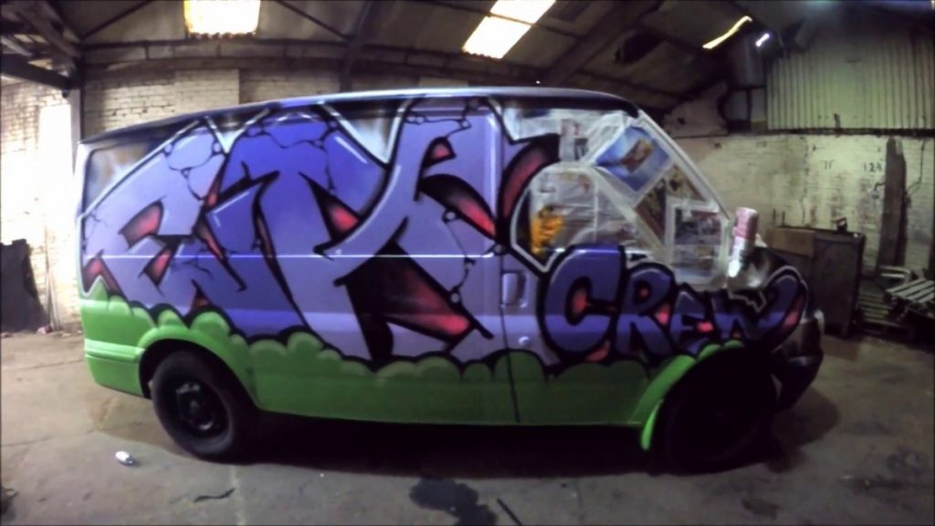 ART: Graffiti - Ghost EA - Pimp My Ride