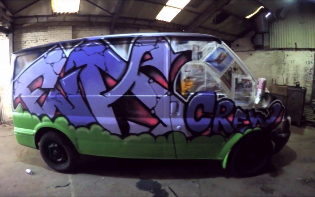 ART: Graffiti – Ghost EA – Pimp My Ride