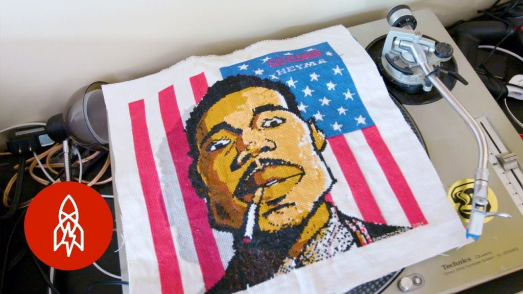 ART: Hip-Hop's Cross-Stitch Gawd