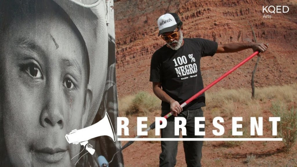 ART: Street Artist Reflects Native American Dignity at a Monumental Scale | KQED Arts