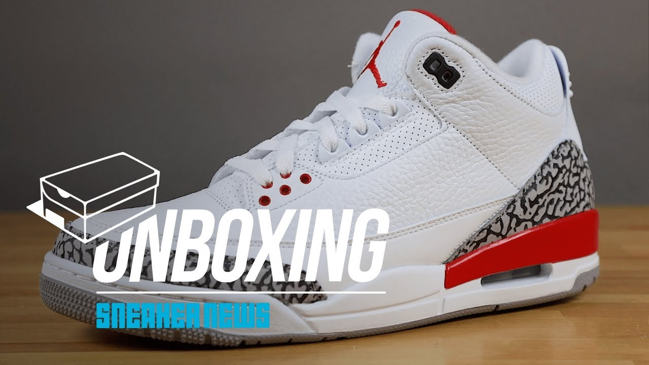 finest selection 8927f 08f27 STYLE  Unboxing The Air Jordan 3