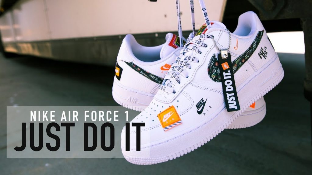 STYLE: FIRST LOOK: Nike Air Force 1 'Just Do It' | SHIEKH