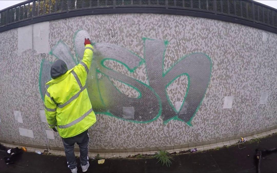 ART: Graffiti – Ghost & Wish EA – Tags, Throwups & Dubs
