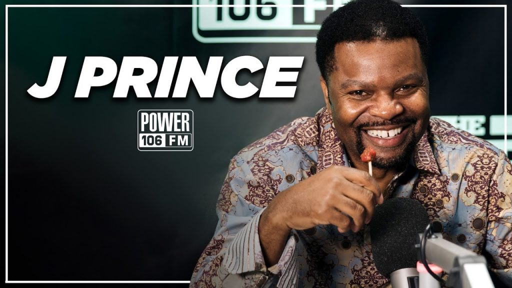 LIFE: J. Prince on The Art & Science of Respect & Possible Documentary