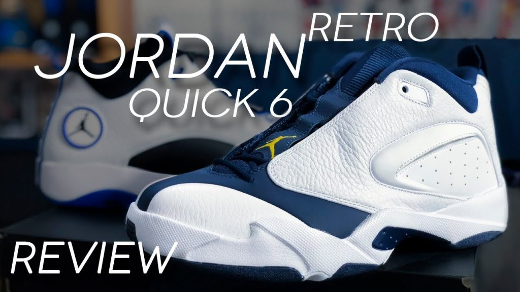STYLE: JORDAN JUMPMAN QUICK 6 RETRO REVIEW | JORDAN QUICK 23