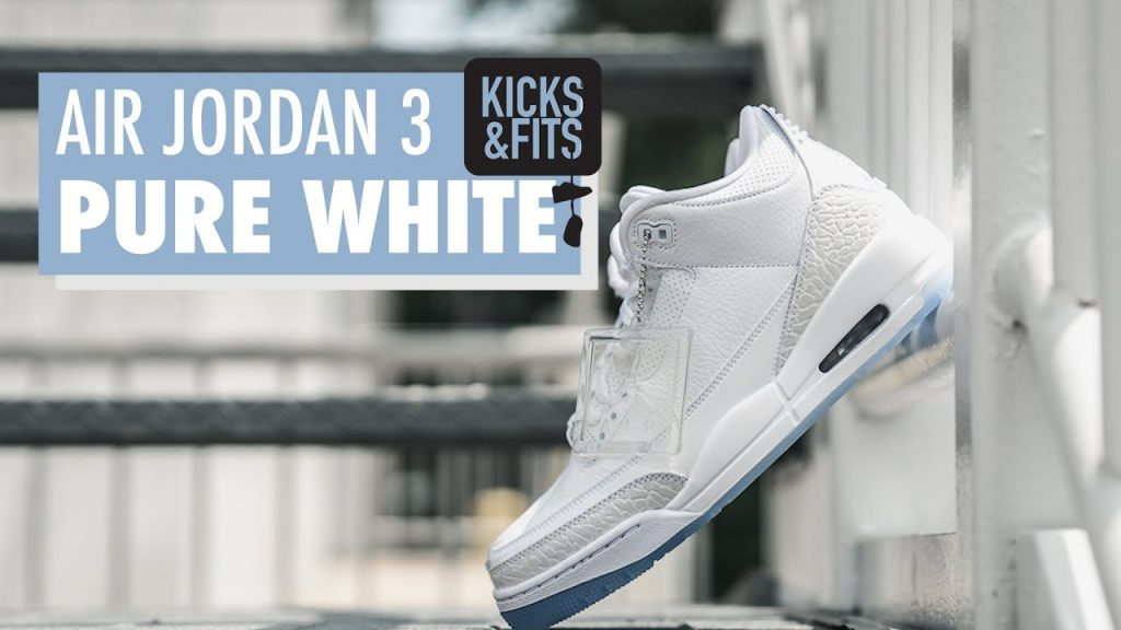 STYLE: Air Jordan 3 'Pure White' Review | Kicks and Fits