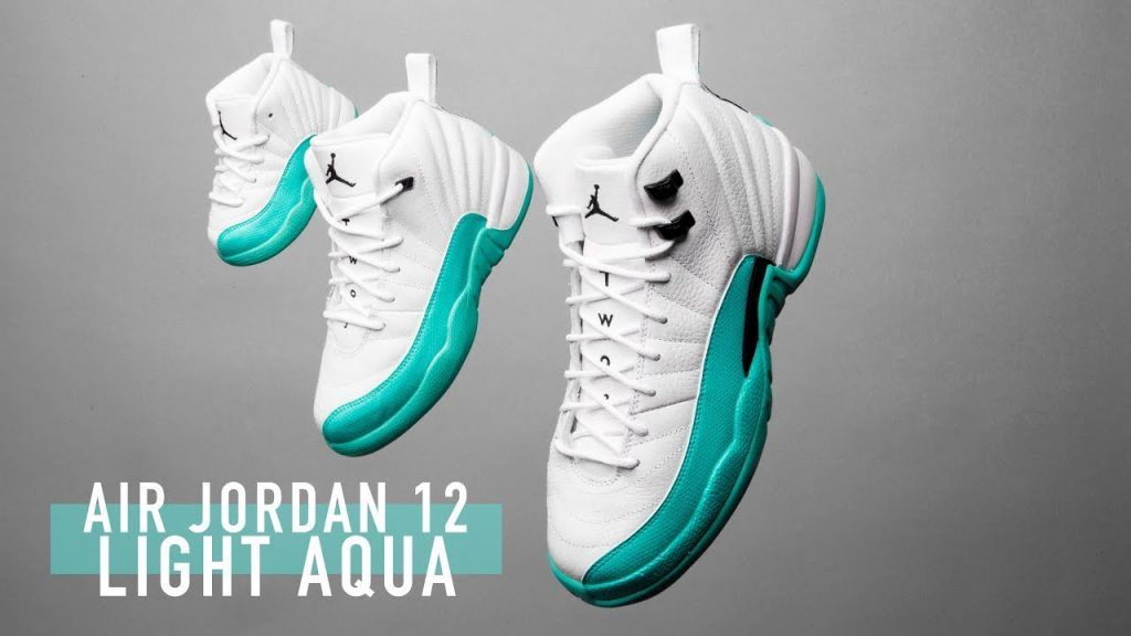 STYLE: FIRST LOOK: Air Jordan 12 'Light Aqua' |SHIEKH