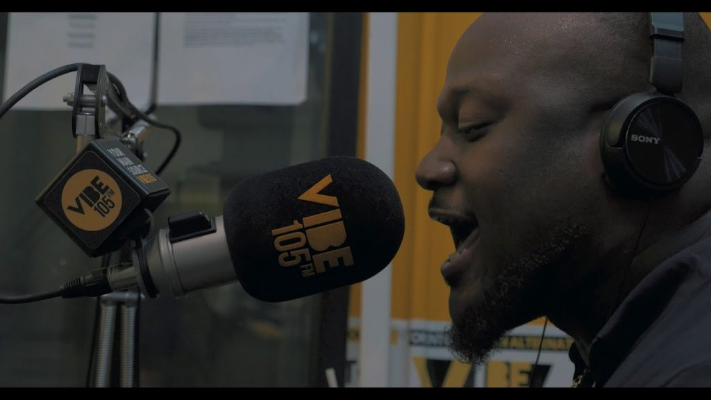 "BARS: Saipher Soze - Freestyle on ""The Plug"" on Vibe 105.5FM (July 23, 2018)"