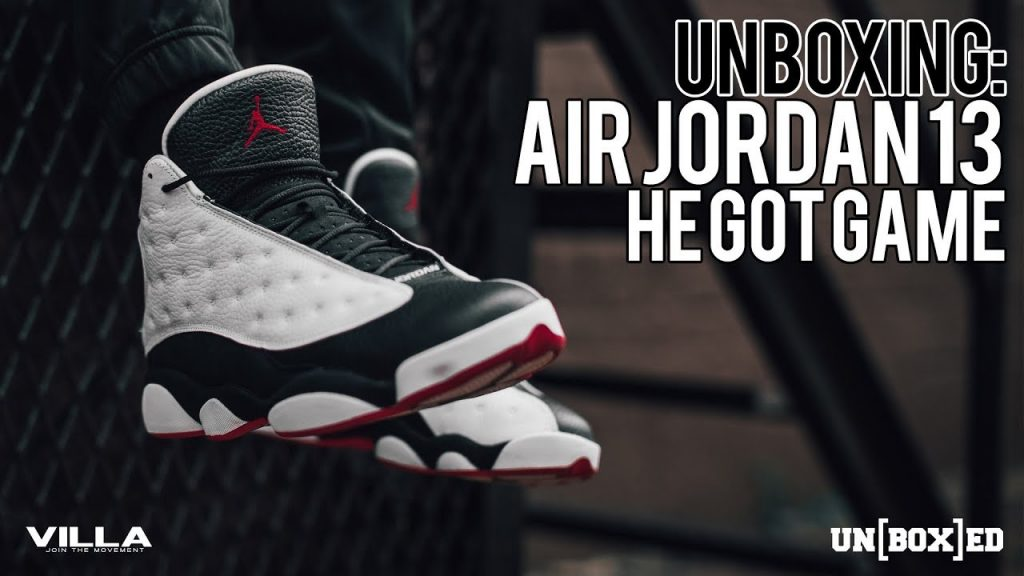 STYLE: UNBOXED: HE GOT GAME AIR JORDAN 13 EP: 28