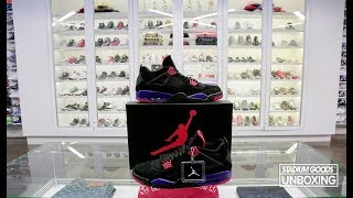 "STYLE: UNBOXING: Air Jordan 4 ""Raptors"""