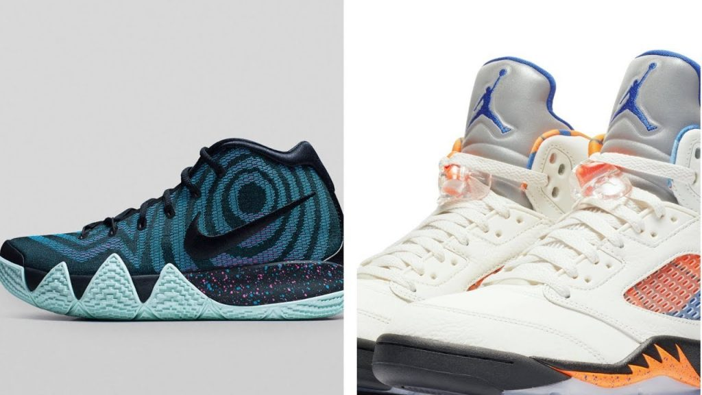 "STYLE: Air JORDAN 5 RETRO ""Barcelona"", NIKE Kyrie 4 ""80s"" and a TON of Other Kicks on HeatCheck"