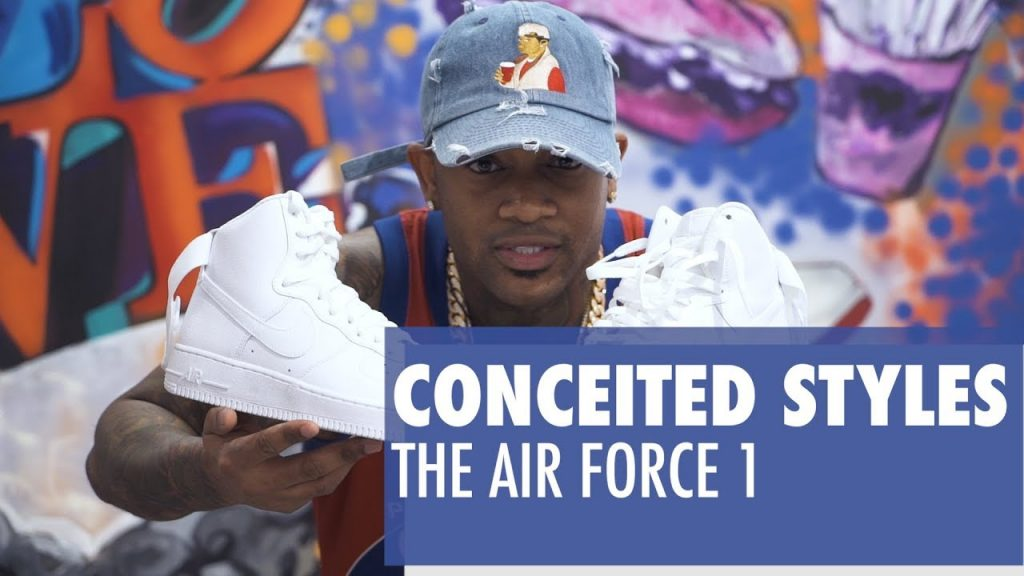 STYLE: Conceited Styles the Air Force 1 High | Kicks and Fits