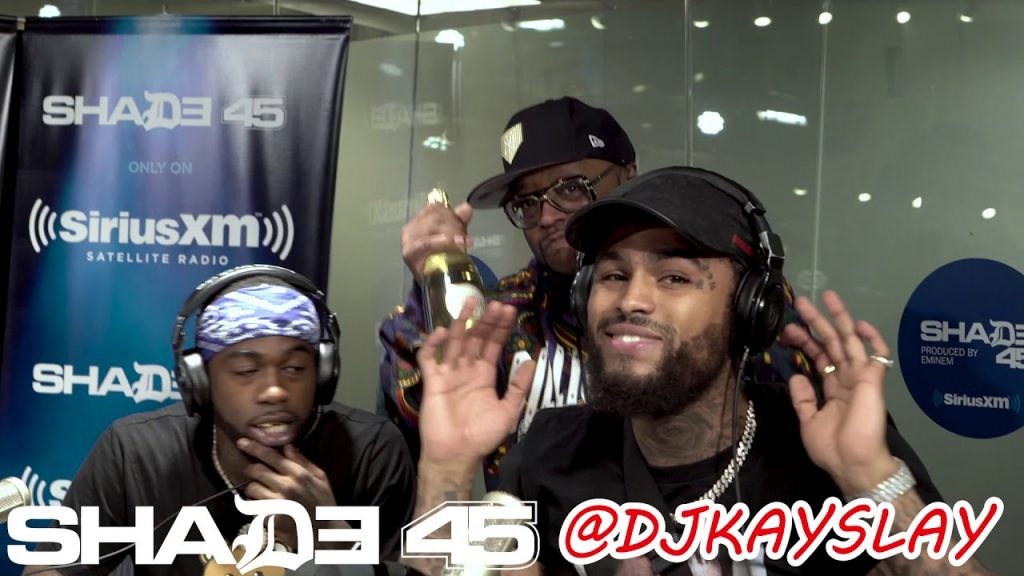 LIFE: Dave East in studio performance at Dj Kayslay show on Shade45