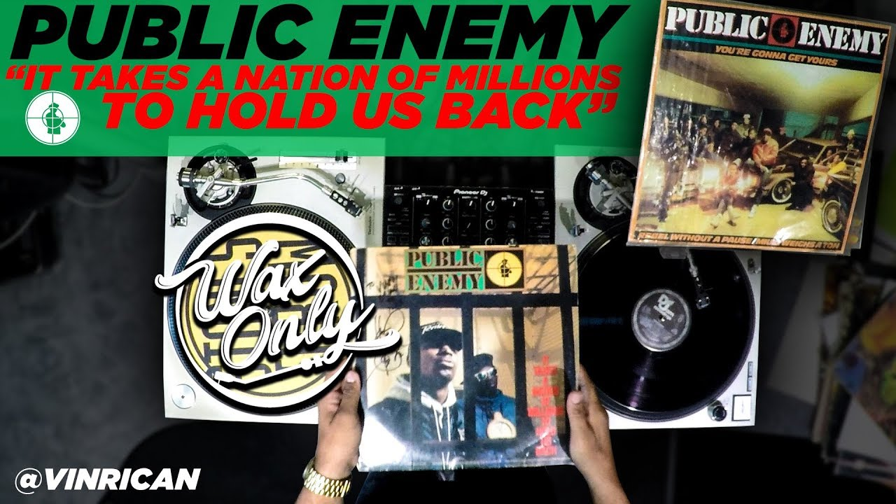 "LIFE: Discover Samples Used On Public Enemy's ""It Takes A Nation of Millions To Hold Us Back"" #WaxOnly"