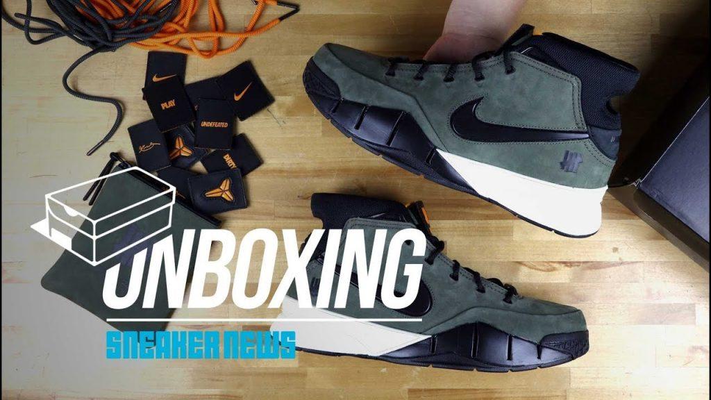 """STYLE: Unboxing The UNDEFEATED x Nike Zoom Kobe 1 Protro """"Flight Jacket"""""""