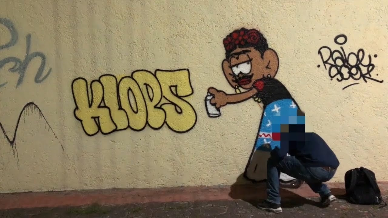 ART: TRACES: Klops bombing in Mexico with MRS, Siler & Dizek