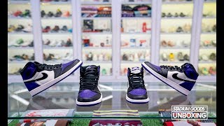 "STYLE: Unboxing Air Jordan 1 High OG ""Court Purple"""