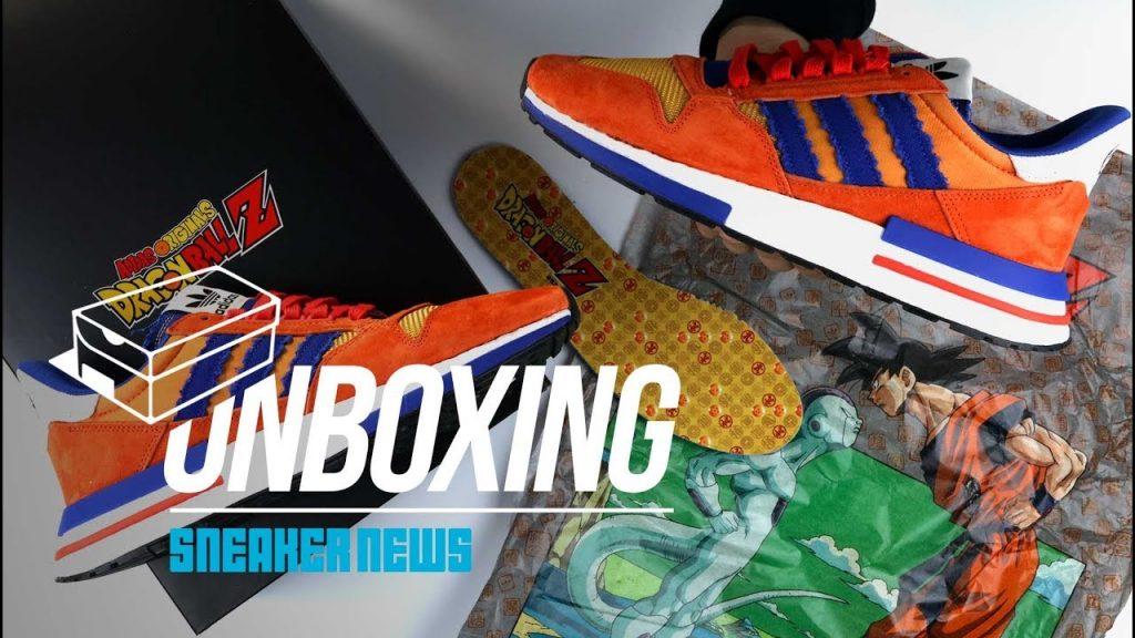 STYLE: Unboxing Dragon Ball Z adidas Goku ZX 500 RM