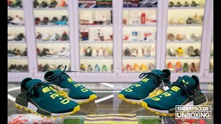 """STYLE: Unboxing NERD x adidas NMD Hu """"BBC Exclusive"""""""