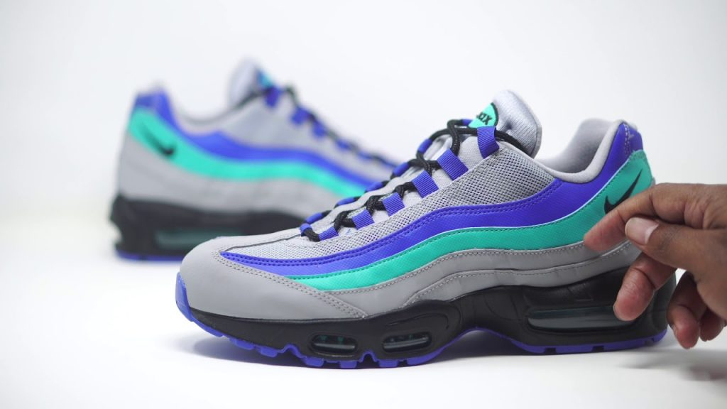 STYLE: FIRST LOOK: AIR MAX 95 AQUA | SHIEKH