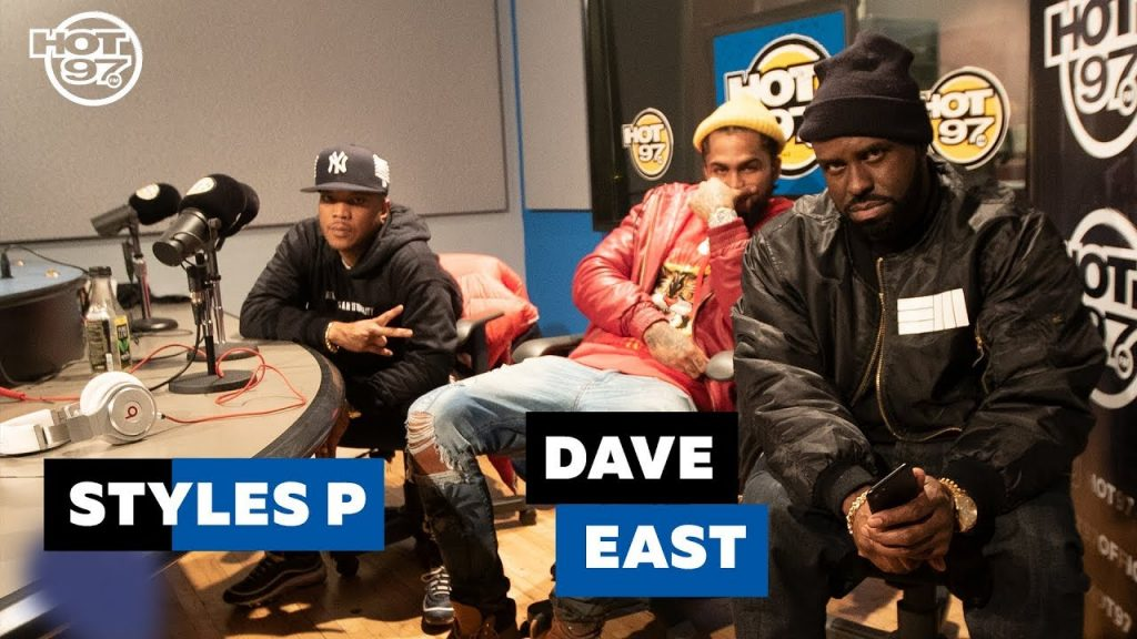 BARS: STYLES P & DAVE EAST | Funk Flex | #Freestyle111 PART 1