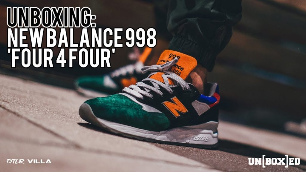 "STYLE: UNBOXED: NEW BALANCE US 998 ""Four 4 Four"" DTLR VILLA EXCLUSIVE EP. 36"